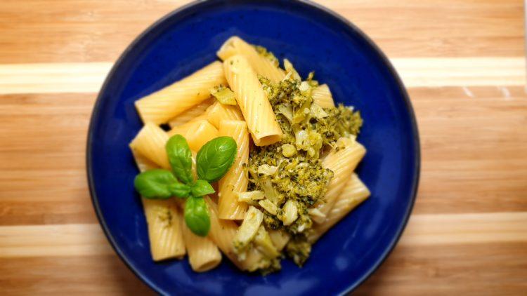 rigatoni mit brokkoli