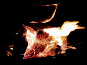 Lagerfeuer und Bushcraft